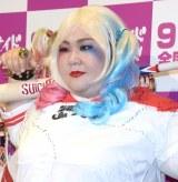 映画『スーサイド・スクワッド』公開直前イベントに登場したメイプル超合金・安藤なつ (C)ORICON NewS inc.