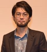 映画『にがくてあまい』完成披露舞台あいさつに出席した草野翔吾監督 (C)ORICON NewS inc.