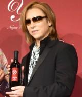 『Y by Yoshiki』プレミアム新作ワイン発表会に出席したYOSHIKI (C)ORICON NewS inc.
