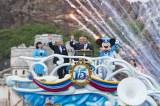 東京ディズニーシー開園15周年記念セレモニーの様子(C)Disney
