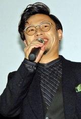 映画『ディアスポリス- DIRTY YELLOW BOYS-』舞台あいさつに登場した浜野謙太 (C)ORICON NewS inc.