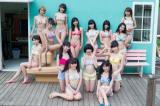 『週刊ヤングマガジン』で水着姿を披露したSUPER☆GiRLS photo : Takeo Dec.
