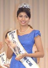 「ミス・ワールド2016」日本代表に決定した東京都出身22歳・吉川プリアンカさん (C)ORICON NewS inc.
