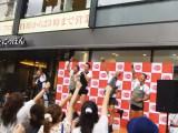 東京力車が「世界一周人力車の旅」に挑戦する3人を応援