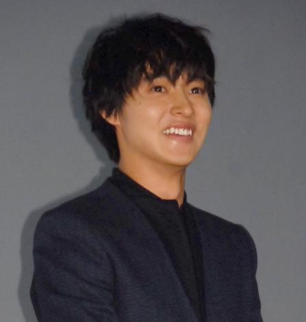 映画『四月は君の嘘』公開直前イベントに出席した山崎賢人 (C)ORICON NewS inc.
