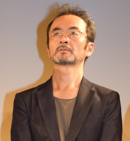 映画『淵に立つ』の完成披露舞台あいさつに出席した古舘寛治 (C)ORICON NewS inc.