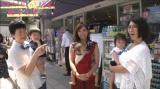 (左から)大島美幸&息子・笑福くん(4歳)、藤本美貴&第2子長女・羽沙ちゃん(1歳)、くわばたりえ&第3子長女・あかりちゃん(1歳)