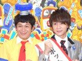 『ヘボット!』応援大使に就任した流れ星(左から)ちゅうえい、瀧上伸一郎 (C)ORICON NewS inc.