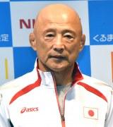 『第4回 くるまマイスター検定』記者発表会に出席した栄和人氏(全日本女子レスリングヘッドコーチ)