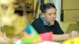 テレビ朝日系ミニ番組『「デザイン・コード』の新タイトルロゴを手がけた野老朝雄氏(C)テレビ朝日