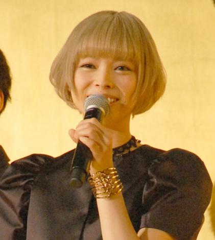 映画『闇金ウシジマくん Part3』完成披露上映会に出席した最上もが (C)ORICON NewS inc.