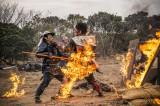 火だるまになりながら戦うシーンを演じきった中村勘九郎 (C)2016『真田十勇士』製作委員会
