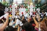 10月スタートの新アニメ『タイガーマスクW』エンディングテーマ「KING OF THE WILD」を初披露した湘南乃風(C)テレビ朝日