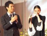 (左から)三浦貴大、武井咲 (C)ORICON NewS inc.