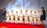 サプライズで駆けつけた野球チーム「江坂タイガース」の子役たち (C)ORICON NewS inc.