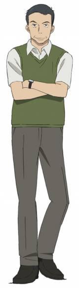 ベテラン編集者の荒木公平(CV:金尾哲夫) (C)玄武書房辞書編集部