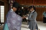 愛知県南知多町の羽豆神社で新曲「コケティッシュ渋滞中」のヒット祈願をしたSKE48(C)AKS