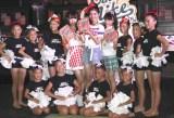 「ポップコーンパーティ」に登場したJSモデルとJUBILLY DANCE CREW Kids TEAM (C)oricon ME inc.