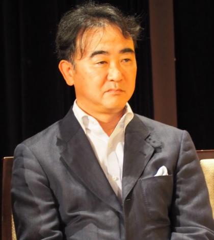 『第62回江戸川乱歩賞』贈呈式に出席した池井戸潤 (C)ORICON NewS inc.