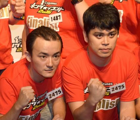 『キングオブコント2016』決勝に進出したタイムマシーン3号ななまがり(左から)森下直人、初瀬悠太 (C)ORICON NewS inc.