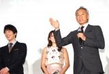 映画『超高速!参勤交代リターンズ』の初日舞台あいさつで力説する西村雅彦 (C)ORICON NewS inc.