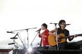 初日は雨に見舞われた横浜スタジアム、最終日は好天 写真:Tsukasa Miyoshi (Showcase)