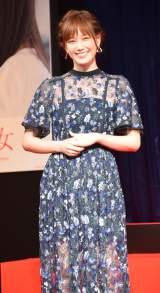 映画『少女』完成報告会見に出席した本田翼 (C)ORICON NewS inc.