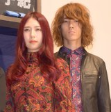 映画『少女』完成報告会見に出席した主題歌を担当するGLIM SPANKY (C)ORICON NewS inc.