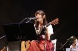 月9主題歌など約2時間にわたって熱唱した藤原さくら Photo by Otatsu