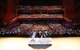 スペシャルイベント『KING OF PRISM Over The Rainbow SPECIAL THANKS PARTY!』に出演した(左から)前野智昭、柿原徹也、増田俊樹(C)T-ARTS/syn Sophia/キングオブプリズム製作委員会