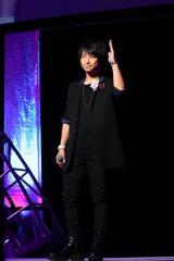 9月11日、東京国際フォーラムで開催されたイベント『KING OF PRISM Over The Rainbow SPECIAL THANKS PARTY!』に出演した柿原徹也(神浜コウジ役)(C)T-ARTS/syn Sophia/キングオブプリズム製作委員会