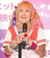 映画『スーサイド・スクワッド』公開記念イベントに登場した小林リナさん (C)ORICON NewS inc.