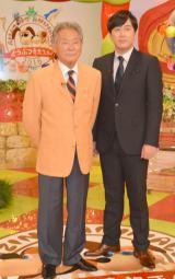 タレントのみのもんた(72)とTBS・安住紳一郎アナウンサー(43)が21日に放送される同局スペシャル番組『どうぶつ奇想天外!』(後7:00〜)で初共演 (C)TBS