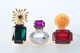 Perfume×伊勢丹コラボ商品【GRANDMATIC】香水瓶型ブローチ