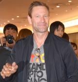 8年ぶりの来日を果たしたアーロン・エッカート (C)ORICON NewS inc.