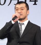 映画『永い言い訳』完成披露試写舞台あいさつに出席した竹原ピストル (C)ORICON NewS inc.
