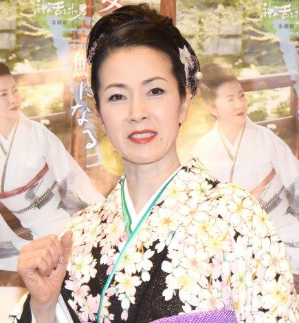 結婚ネタ封印を宣言した坂本冬美=『30周年記念リサイタル〜今日から明日へ〜』 (C)ORICON NewS inc.