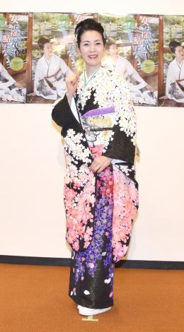 『30周年記念リサイタル〜今日から明日へ〜』を開催した坂本冬美 (C)ORICON NewS inc.