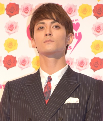 映画『CUTIE HONEY -TEARS-』完成披露イベントに出席した永瀬匡 (C)ORICON NewS inc.