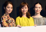 (左から)佐々木希、比嘉愛未、ミムラ (C)ORICON NewS inc.