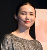 映画『カノン』完成披露試写会に登場したミムラ (C)ORICON NewS inc.
