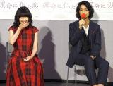 北川氏が太鼓判を押したカップルを演じた(左から)原田知世、斎藤工 (C)ORICON NewS inc.