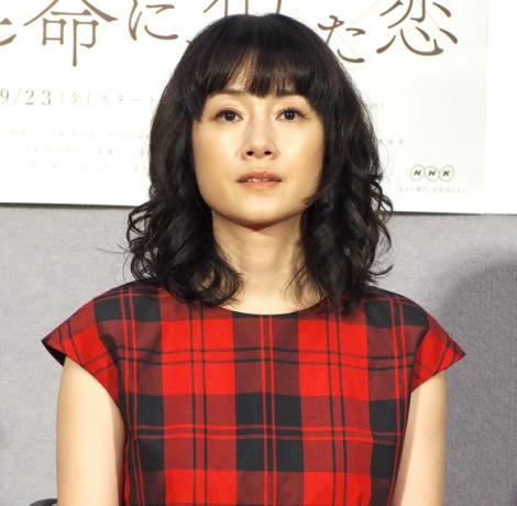 NHK連続ドラマ『運命に、似た恋』の試写会に出席した原田知世 (C)ORICON NewS inc.