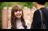 秋の京都で胸キュンデート!『ラストキス〜最後にキスするデート』に出演する藤田ニコル(C)TBS