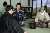NHK大河ドラマ『真田丸』第32回より。刑部を囲む三成と信繁
