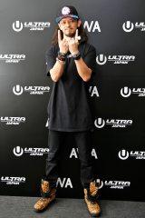 『ULTRA JAPAN 2016』のAWAブースに来場したDJ YAMATO(撮影:ウチダアキヤ) (C)oricon ME inc.