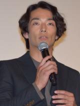 映画『怒り』の初日舞台あいさつに出席した森山未來 (C)ORICON NewS inc.
