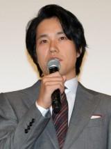 映画『怒り』の初日舞台あいさつに出席した松山ケンイチ (C)ORICON NewS inc.