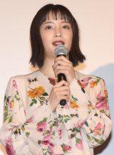 映画『怒り』の初日舞台あいさつに出席した広瀬すず (C)ORICON NewS inc.