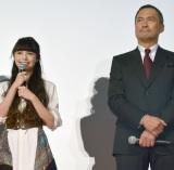 渡辺謙(右)への感謝を口にする宮崎あおい (C)ORICON NewS inc.